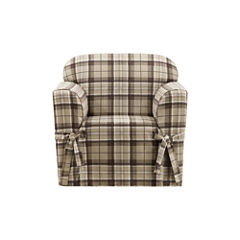 SURE FIT® Highland Plaid 1PC Slipcover Chair