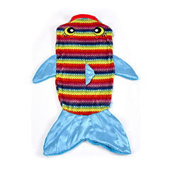 As Seen On TV Rainbow Fish Snuggie Tail