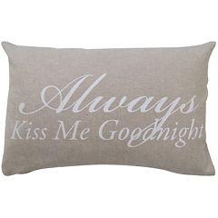Park B. Smith® Good Night Oblong Decorative Pillow