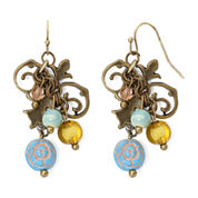 Aris by Treska Chandelier Earrings