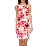 Alyx® Sleeveless Floral Sheath Dress