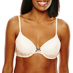 Ambrielle® Point D'Esprit Everyday Full Coverage Bra