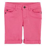 Arizona Colored Bermuda Shorts - Toddler Girls 2t-5t