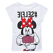 Minnie Mouse #Selfie Top - Girls 7-16