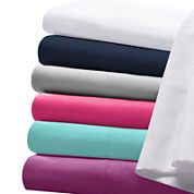 Intelligent Design Microfiber Solid Sheet Set