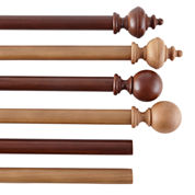 Wood Curtain Pole Collection