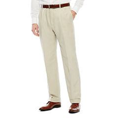 Stafford Pleated Microfiber Pant
