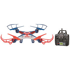 Marvel Licensed Captain America Sky Hero 2.4GHz 4.5CH RC Drone