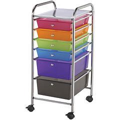 6-Drawer Storage Cart