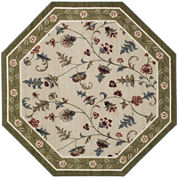 Flower Patch Washable Octagonal Rug