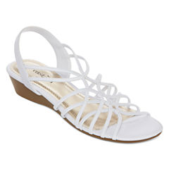 east 5th® Royal Strappy Wedge Sandals