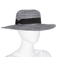 August Hat Co Floppy Starburst Black Hat
