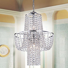 Warehouse Of Tiffany Charlotte Crystal Chandelier