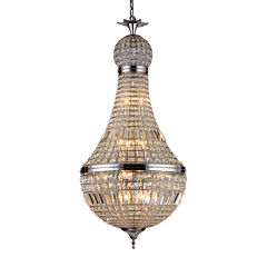 Warehouse Of Tiffany Behati 14-light Crystal Chandelier
