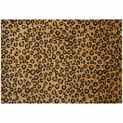 Leopard Skin Rectangular Rugs