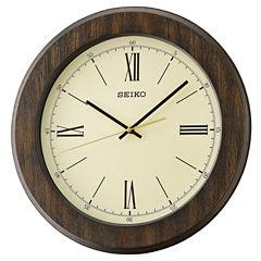 Seiko White Wall Clock-Qxa682blh