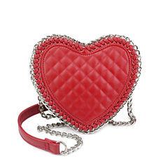 Olivia Miller Alura Chain Wrapped Heart Crossbody Bag