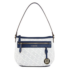 Liz Claiborne Jess Top Zip Shoulder Bag