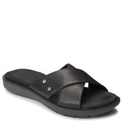 A2 by Aerosoles Cool Breeze Womens Slide Sandals