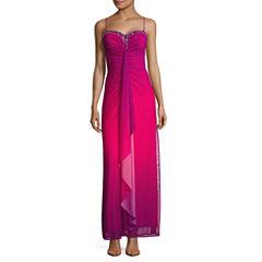 Reign On Sleeveless Applique Evening Gown-Juniors