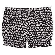 Okie Dokie Girls Pull-On Shorts