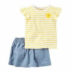 Carter's 2-pc. Skirt Set Baby Girls