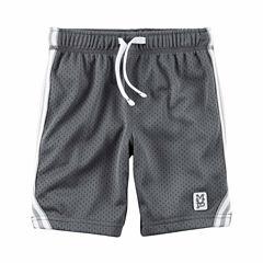 Carter's Infant Boys Grey Tierd Shorts