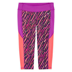 Xersion Performance Print Capri Legging - Girls' 7-16 and Plus