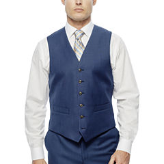 Stafford Travel Stretch Suit Vests-Classic Fit