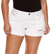 Love Indigo Denim Shorts Plus