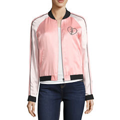 Decree Sateen Bomber Jacket - Juniors