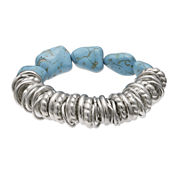 Mixit™ Genuine Turquoise Stretch Bracelet