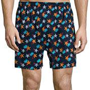 Stafford® 4-pk. Woven Cotton Boxers - Big & Tall