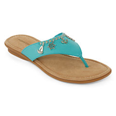 St. Johns Bay Untie Womens Sandal