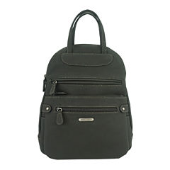 St. John's Bay Quincy Vinyl Backpack