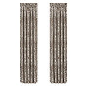 Queen Street Stanford 2-Pack Rod-Pocket Curtain Panel