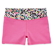 Okie Dokie® Yoga Shorty Shorts - Preschool Girls 4-6x