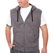 The Foundry Supply Co.™ Sleeveless Training Fleece Hoodie Shirt - Big & Tall