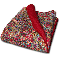 Greenland Home Fashions Persian Quilted Cotton Throw