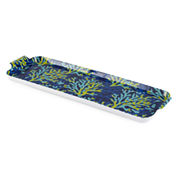 Outdoor Oasis™ Coral Melamine Oblong Tray