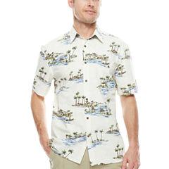 Island Shores™ Short-Sleeve Camp Shirt