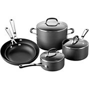 Simply Calphalon® 8-pc. Hard-Anodized Nonstick Cookware Set