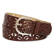 Relic® Scroll Perforated Belt