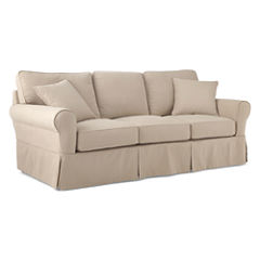 Friday Brushed Canvas Slipcovered Furniture Collection