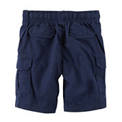 Carter'S Boys Woven Pull-On Shorts