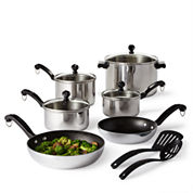 Farberware® 12-pc. Stainless Steel Cookware Set