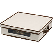 Household Essentials® Charger Plate Storage Chest