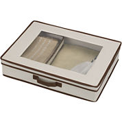 Household Essentials® Tabletop Set Storage Chest + Window on Top