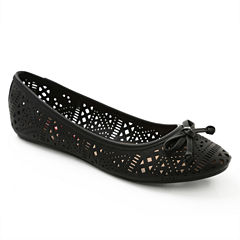 Union Bay Tamasine Womens Ballet Flats