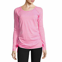 Made For Life Long Sleeve Crew Neck T-Shirt-Talls